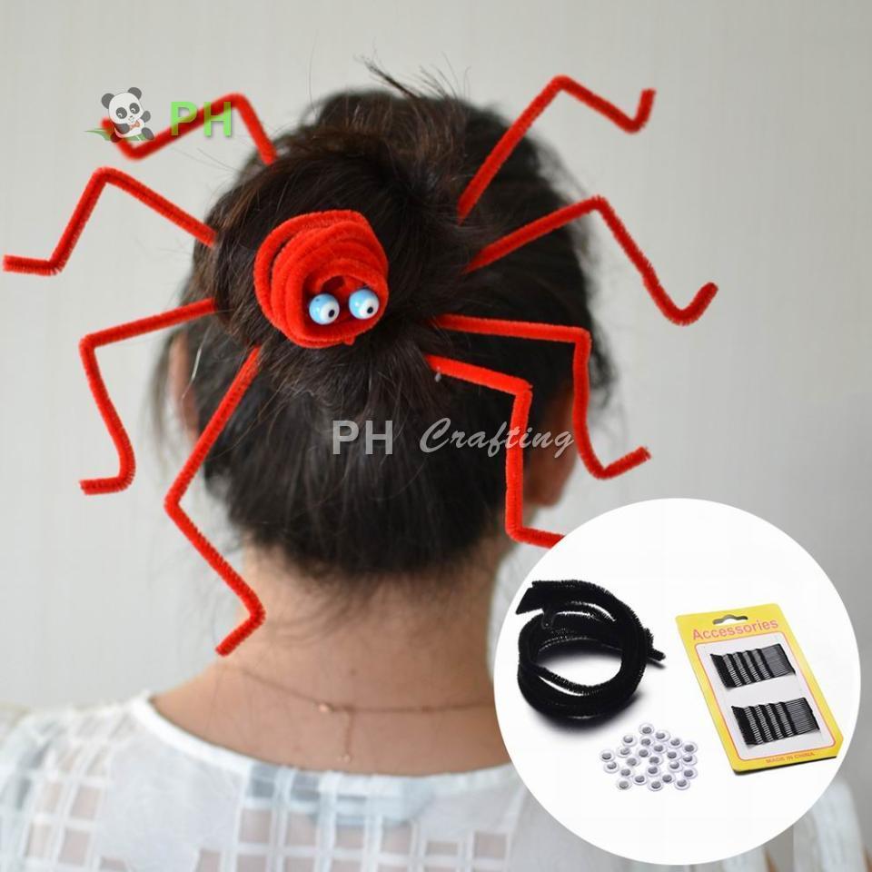 free tutorial diy jewelry sets, halloween hair accessories bun-in