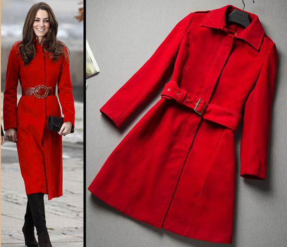 coat red Picture - More Detailed Picture about Free Shipping 2014 ...