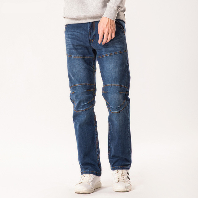 New Big Size 44 46 48 Men s Jeans Casual Straight Jeans Loose Patchwork  Denim Trousers Fashion Trousers Men Bottoms 0ff05a533