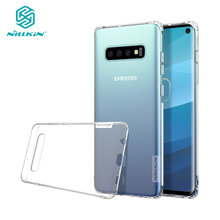 Soft Case for Samsung Galaxy S10 S10+ Plus Nillkin Nature Series Transparent Clear TPU Cover sfor Samsung Galaxy S10 Case
