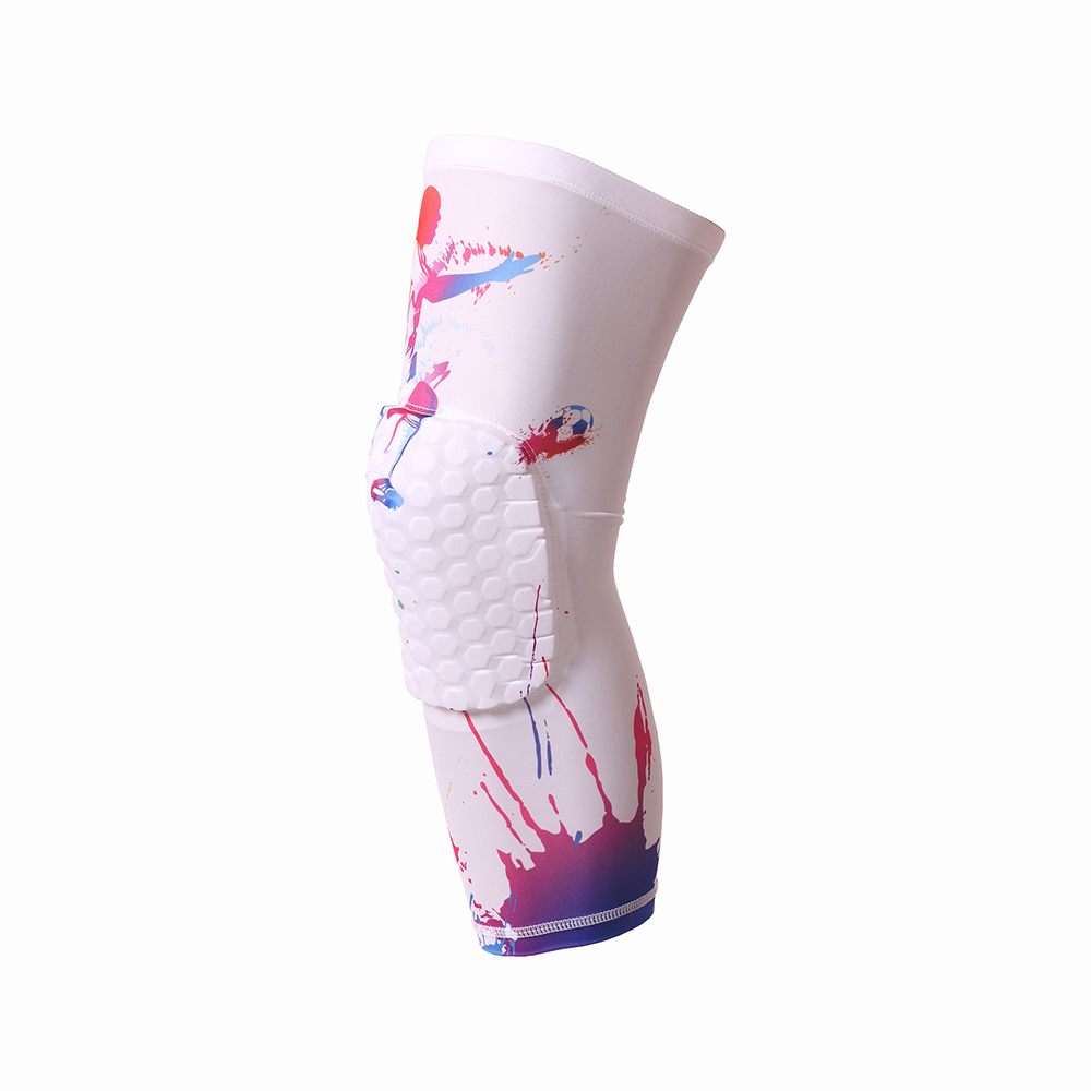 High Quality Sport Safety kneepad Football knee brace support Leg Sleeve Protector Calf compression Basketball knee pads