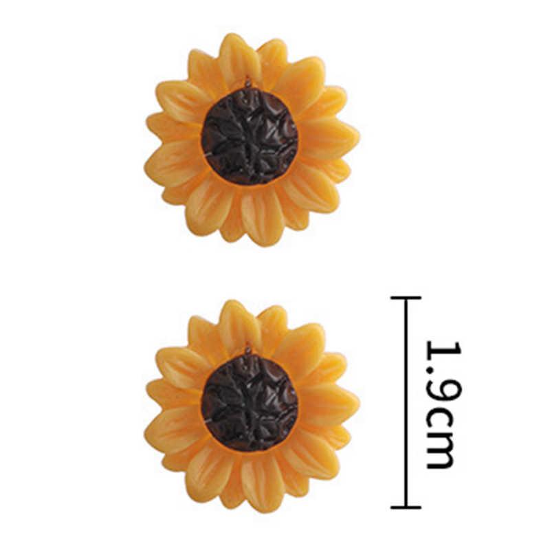 Moda delikatny naszyjnik słonecznika dla kobiet kreatywna biżuteria z imitacji pereł naszyjnik akcesoria odzieżowe 12 wyborów!