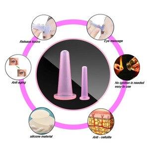 Image 2 - 2 pcs jar facial massage cans for massage ventosa celulitis suction cup suction cups face massage cans anti cellulite