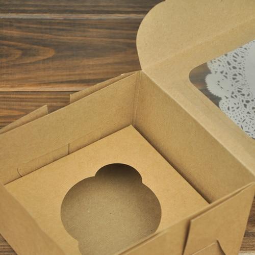 Упаковка для подарков коробка подарочная Бкоробки бумажные подарочная коробка новогодняя улочки бумажные коробки один кекс крафт-бумаги Box подарочная упаковка для свадьбы ну вечеринку