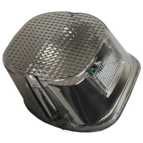 Tail Brake Light For Harley Dyna Sportster Touring XL FX FXD FXR Smoke