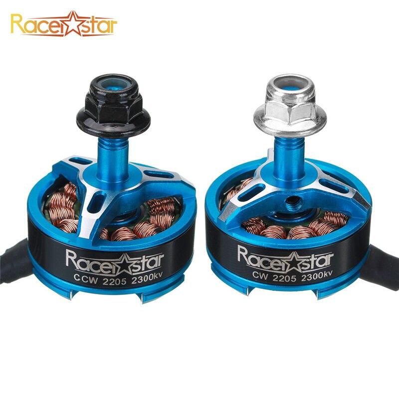 5PCS Racerstar SPROG X 2205 2300KV 3-4S Brushless Motor for Sprog Beginner RC Models Multicopter Frame Part Black Blue Red Grey