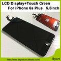 1 PCS 3D Com lcd sensível ao toque Nenhum ponto qualidade Display LCD de Toque painel da tela digitador assembléia + proteja film vidro para iphone 6 s plus