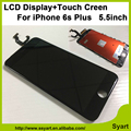 100 PCS 3D lcd sensível ao toque Nenhum ponto qualidade Screen Display LCD de Toque painel de digitador assembléia com vidro filme para iphone 6 s plus 5.5 polegadas