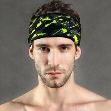 Новая спортивная повязка на голову для занятий спортом на открытом воздухе, дышащая, для занятий теннисом, фитнесом, беговой головкой, для мужчин и женщин, повязка на голову, быстросохнущая повязка на голову