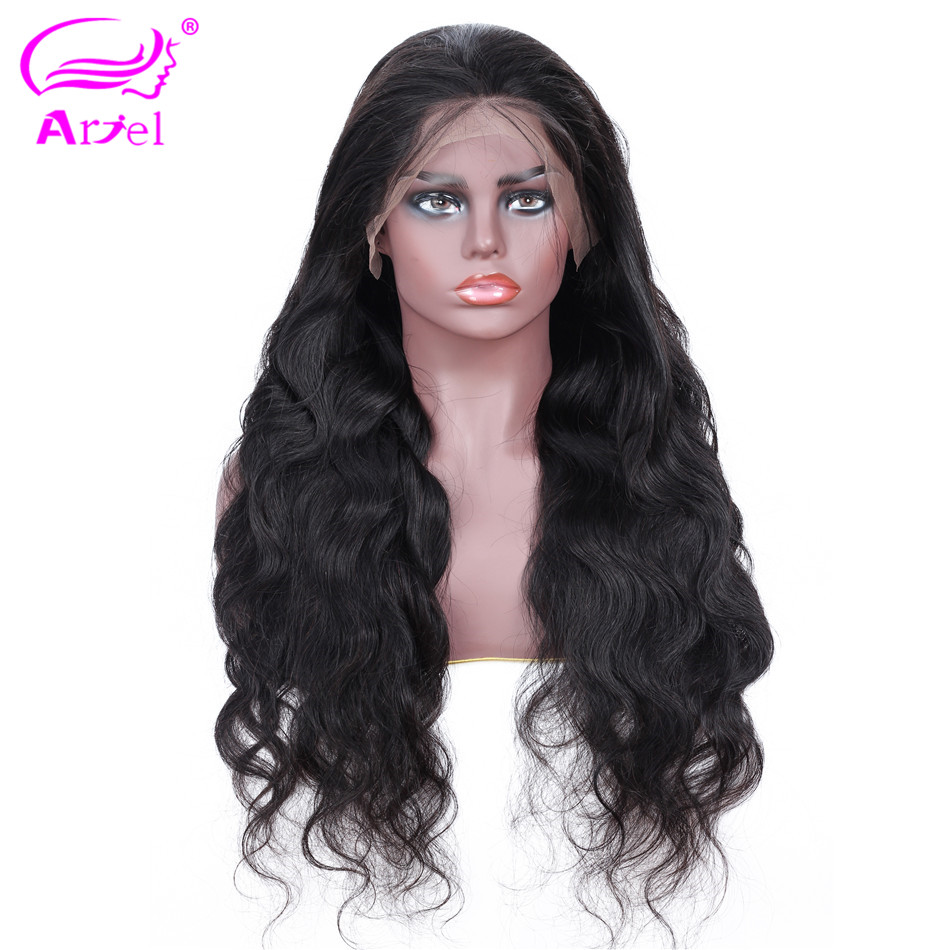 Body Wave Wig 13  4 Lace Front Human Hair Wigs For Black Women Mongolian Non Remy Lace Front Wig Pre Plucked Glueless Lace Wigs-in Human Hair Lace Wigs from Hair Extensions & Wigs    2