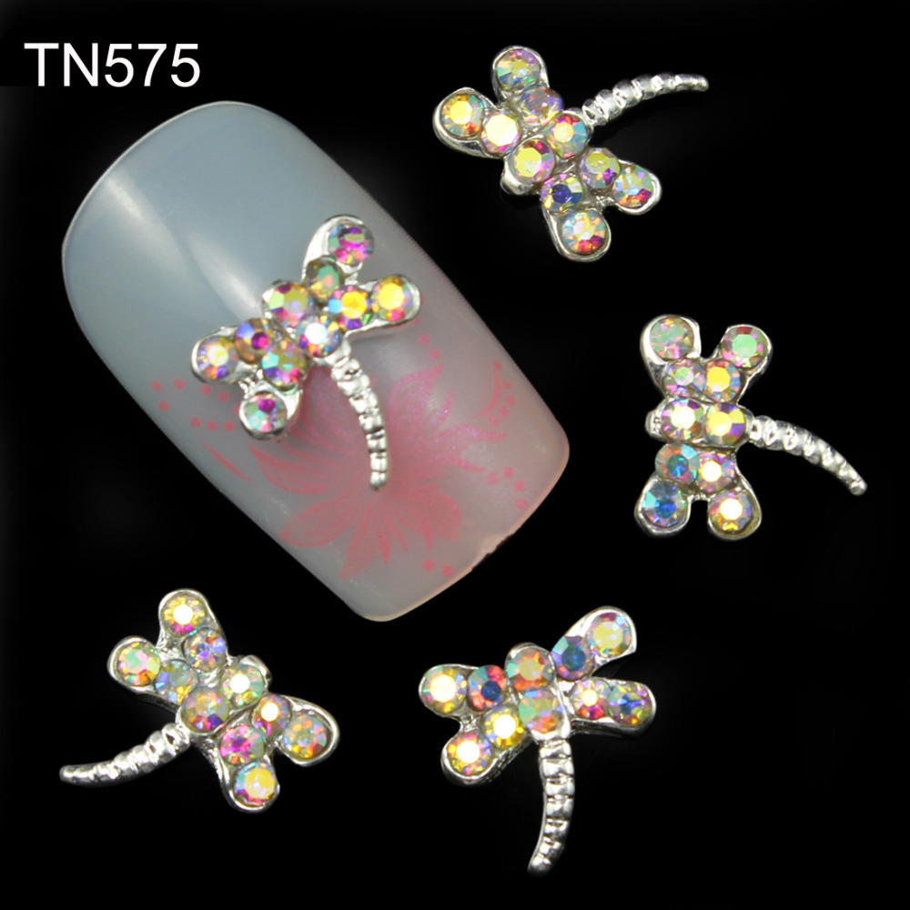 10pcs 3d nails art decoration charms jewelry adhesive for 3d nail decoration