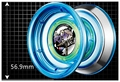 Sun Series Blue Auldey Professional YOYO with a Pair Dazzle Light Accessories Hot Selling