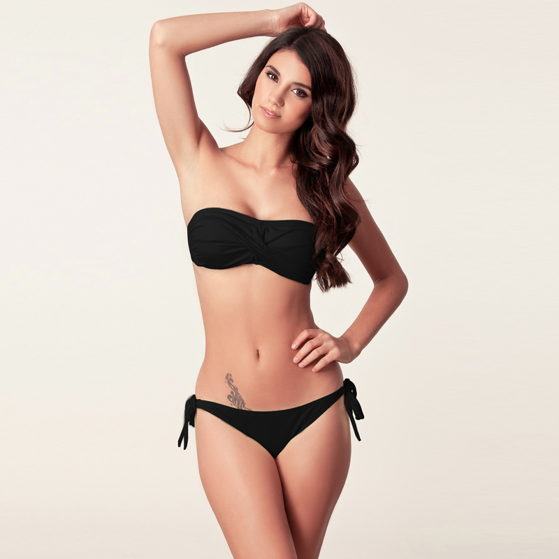 Feminin Bikini 2019 Costume de baie noi Push Up Bandaj brazilian - Imbracaminte sport si accesorii