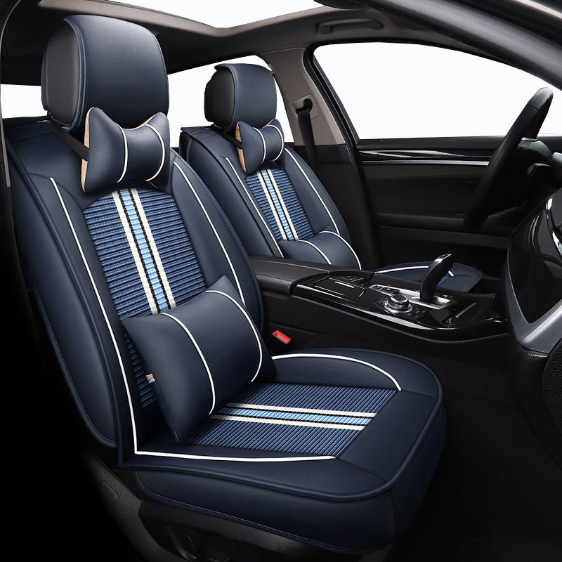 Subaru Tribeca Car-Seat-Covers Forester Car-Styling Legacy Auto Outback Impreza XV Ice-Silk