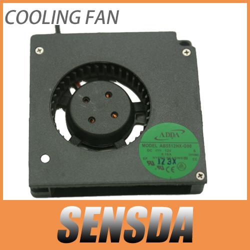 Adda AB5512HX-G00 DC12V 0.19A servidor ventilador ventilador de refrigeración 5.5 cm hilos