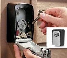 Schlüssel aufbewahrungsbox organizer 4 ziffern passwortsperre pick Wand Montiert professionelle dietriche kleinen safe