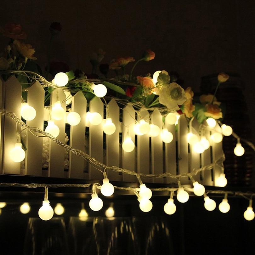 10m 100LEDs LED String Lights Holiday Festival Christmas Fairy Lights House Garden Decoration Party Wedding Lights Art Decor