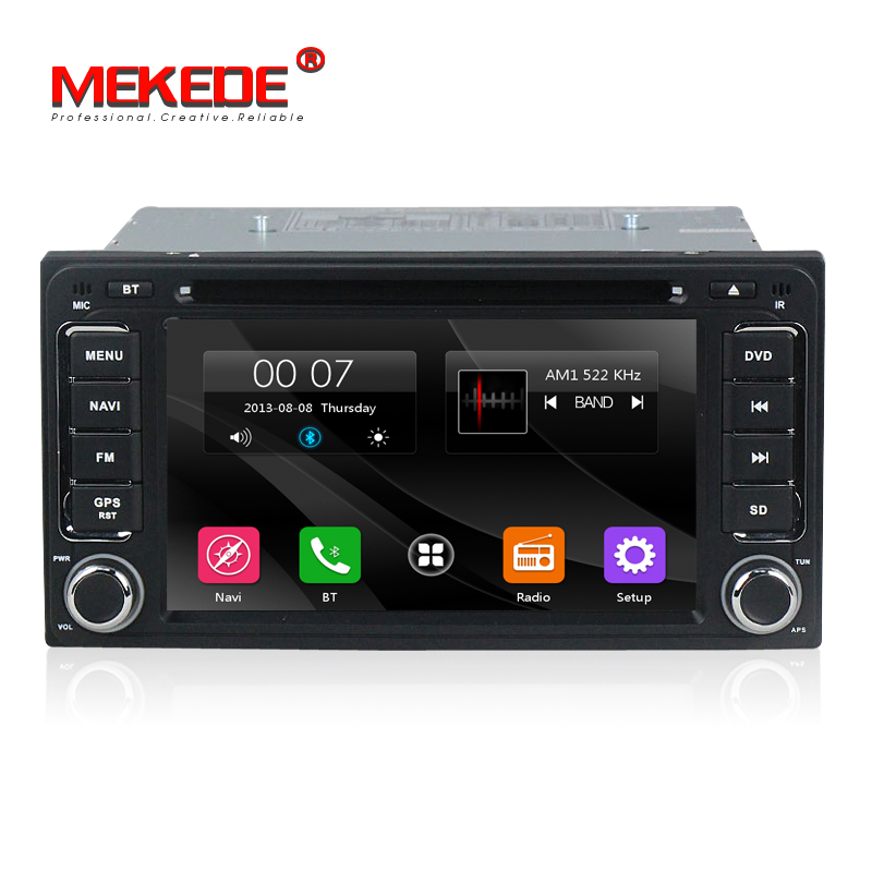 MTK800 MHZ Dual Core Toyota Universal 6 95 Inch 2 Din Car DVD GPS Multimedia Player