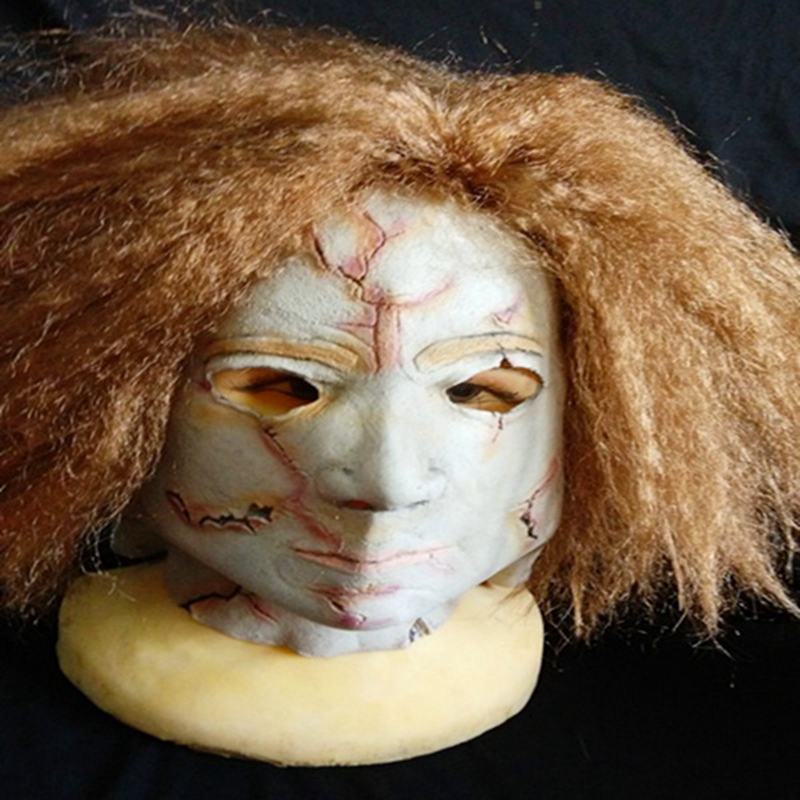 Michael Myers Mask Horror Movie Halloween Adult Party Masquerade Cosplay Latex Retaining Cap
