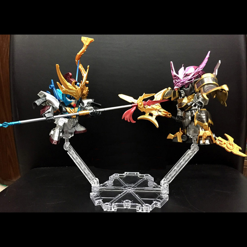 Universal six-sided bracke Base Suitable Display Stand For 1/144 HG/RG Gundam Figure Animation Cinema Game ACG Toys