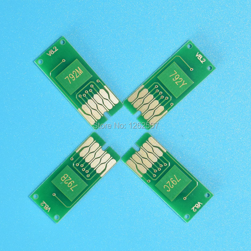 T7921 Kompatible Chips für Epson WF-5621 WF-5111 Einmaliger Chip - Büroelektronik - Foto 4