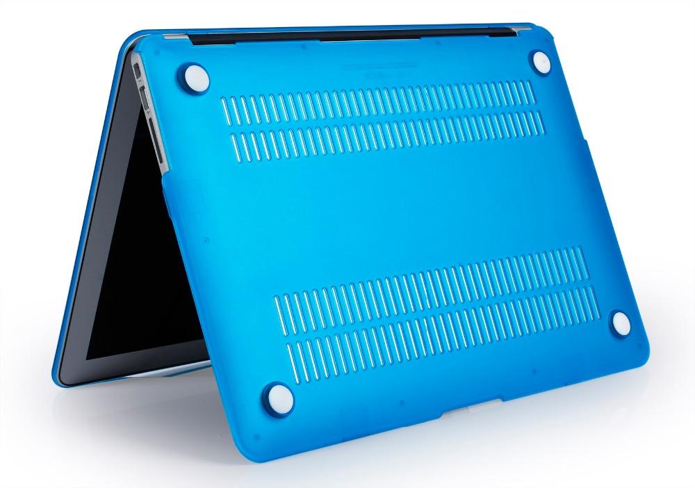 JUNWER CrystalMatte Transparent Case For Apple Macbook Air Pro Retina 11 12 13.3 15 For Macbook Air 13 A1932 Laptop Case Cover 37