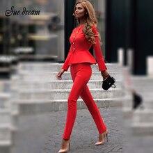 Новый красный комплект элегантный