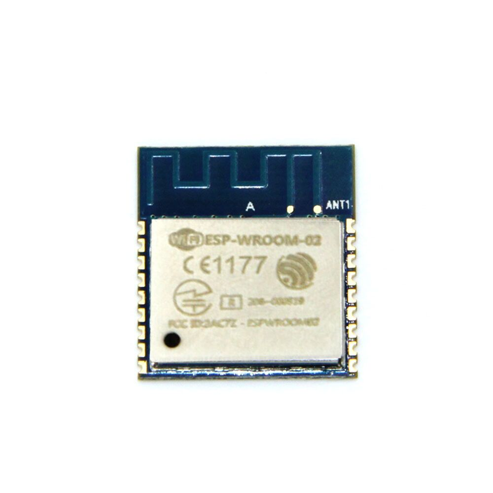 10pcs/lot ESP8266 Serial WIFI Model ESP-WROOM-02 REMOTE Transceiver wireless Module ESP WROOM FCC CE TELEC Certified iot esp8266 wireless wifi serial module esp 07s