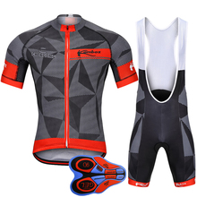Summer Cycling Clothing Set Pro Cycling Jerseys Bike Clothing Suit Mountain Bike Wear Short Sleeve Ropa Ciclismo Cycling Kit pro fluorescent green short sleeve men s cycling jerseys set mountain bike clothes cycling clothing ropa ciclismo cycling kit