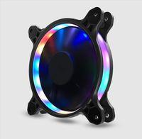 Jonsbo 12CM LED Light Fan Eclipse Computer Case Fan Upgrade FR 601 PLUS