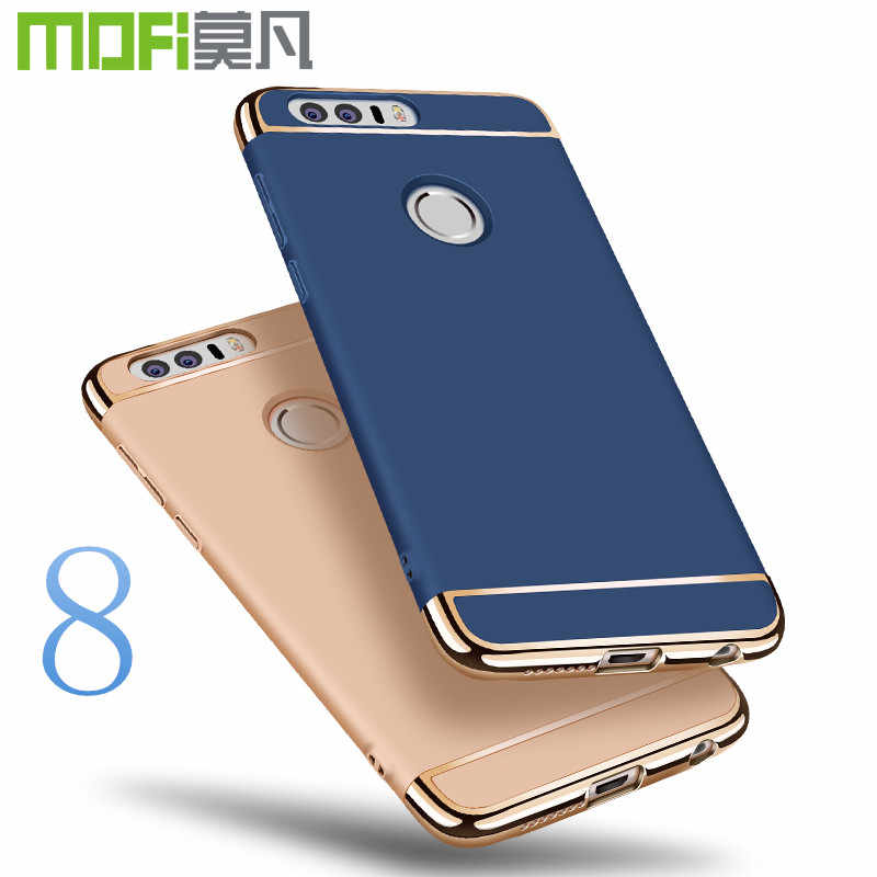 For Huawei honor 8 case MOFi for Huawei honor 8 cover back case hard luxury capa coque matte accessories navy blue 5.2""