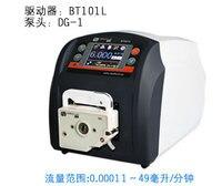 BT101L DG6 1 Intelligent peristaltic pump Precise Flow Control Water Liquid Industry Laboratory Pump 0.00016 26 ml/min