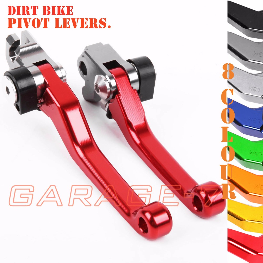 For Husqvarna TX 125-300 TE 125 150 300 FX 350-450 TC 125 250 CNC Pivot Racing Motocross Brake Clutch Levers Dirt Bike Lever