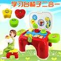 Nova Chegada Crianças Toy Play Casa Cozinha Cozinhar Bebê Menina aprendizagem 2 EM 1 Utensílios de Cozinha E Talheres Definir Um Aniversário presente