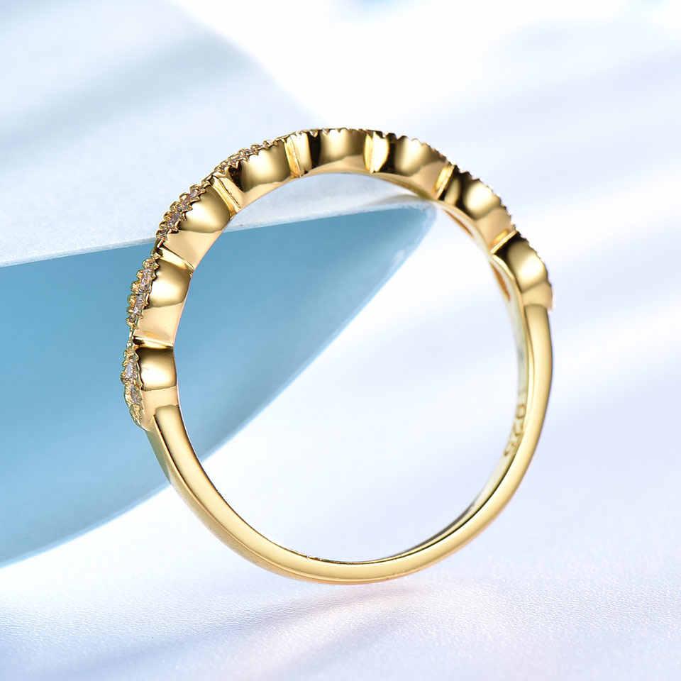 UMCHO จริงแท้ 925 แหวนเงินผู้หญิง Infinity Forever Love ครบรอบแหวนเงิน 925