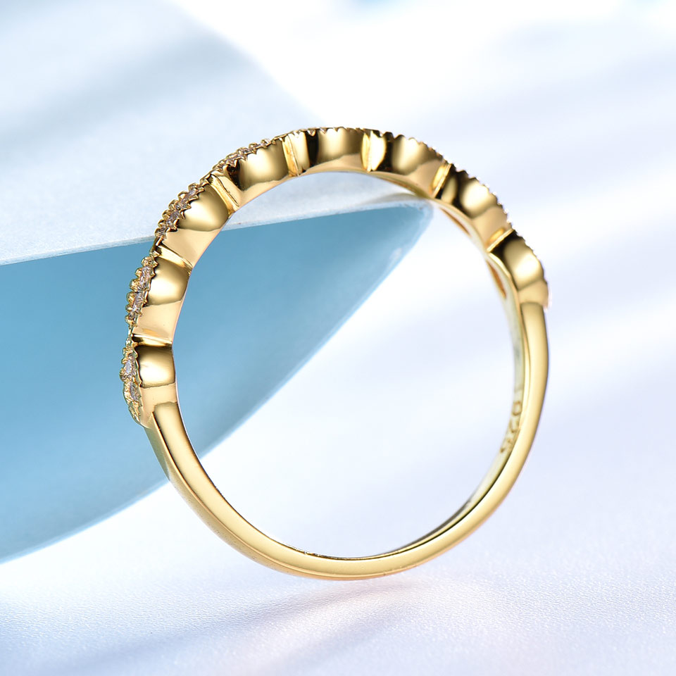 UMCHO Ægte Pure 925 Sterling Sølv Ringe For Kvinder Uendelig - Smykker - Foto 4