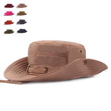 Marca Solid Sombreros Del Cubo Para Los Hombres Pescador sombrero de Sol de  las mujeres Hueso adc5514cc51