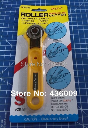 Top quality dafa brand rotary cutter 28mm fabric paper for Best garden tools brand