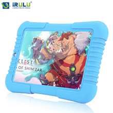 Оригинал Y3 iRULU 7 «синий Babypad 1280*800 IPS Android 5.1 A33 Quad Core Планшетный ПК 1 Г/16 Г iRULU для дети Tablet 4000 мАч Батарея