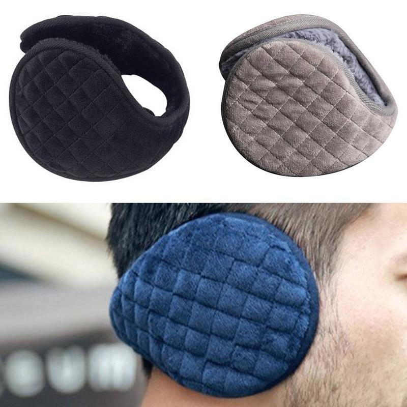 2019 New Unisex Winter Winer Fleece Warmer Fur Earmuff Fashion Plush Cloth Ear Muffs For Men Women  Warm Headphones