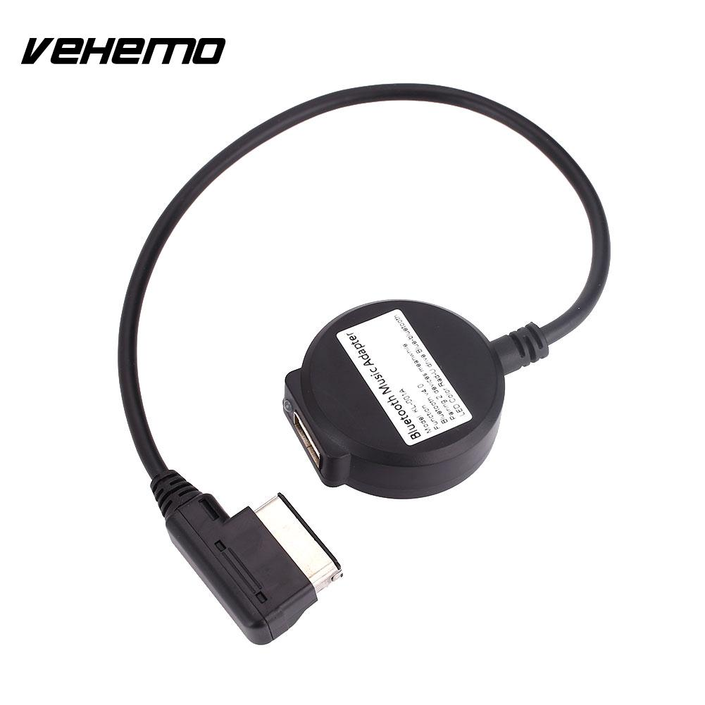 Wireless Bluetooth Adapter Cable For Audi And Volkswagen: Music Adapter Car Wireless Bluetooth With USB Cable For