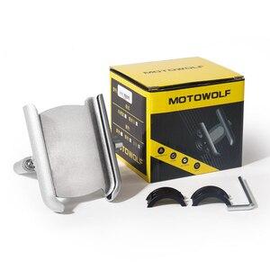 Image 5 - Kierownica ze stopu aluminium lusterko wsteczne stojak na telefon uniwersalna rowerowa rowerowa uchwyt na telefon do motocykla uchwyt motocyklowy