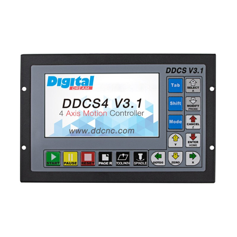 3 Axis Motion Controller Offline CNC Controller 500KHz CNC Standalone Control DDCS V3.13 Axis Motion Controller Offline CNC Controller 500KHz CNC Standalone Control DDCS V3.1