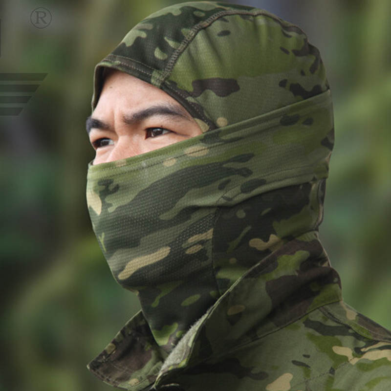 Military Airsoftsports Tactical Balaclava Camouflage Hunting Paintball Riding Face Mask