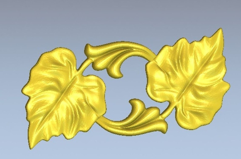 3d Model Relief  For Cnc In STL File Format Flower_16
