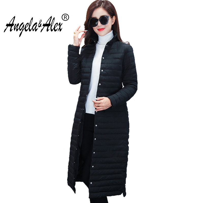 Winter Jacket Women Cotton Long Jacket 2017 Fur Slim Padded Coat Outwear High Quality Warm Jackets Coats New Design нож кухонный универсальный 150 мм samura harakiri shr 0023w