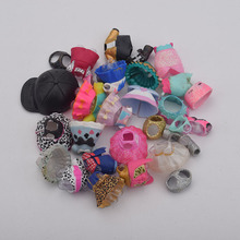 plastic doll clothes accessories bottle shoes for series 1 2 3 doll toy gift for girl