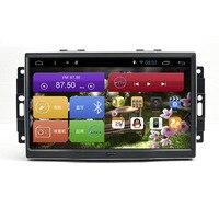 9 дюймов Экран 2 г Оперативная память Android 6,0 автомобиль gps навигации Системы Media стерео Авто радио плеер для Chrysler 300C для Jeep кисти для