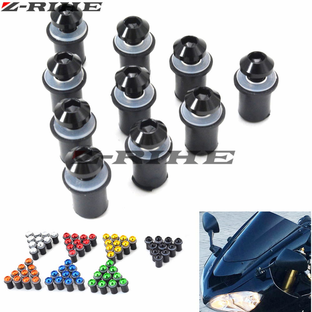 5mm Motorcycle Screw Kit Motorbike Windscreen Windshield Bolts Screws for YAMAHA XJR FJR 1300 1200 FZR 1000 TMAX 530 500 TMAX530 yomt motorcycle motorbike windshield smoke race screen for yamaha tmax530 2012 2014 2013 12 13 14 windscreen