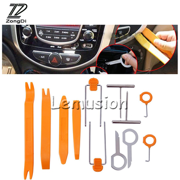 ZD 12Pcs Car-styling For Mercedes W203 W211 W204 W210 Benz BMW F10 E34 E30 F20 X5 E70 Car Panel Pry Disassembly Multimedia Tools image